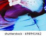 painted abstract background | Shutterstock . vector #698941462