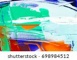 painted abstract background | Shutterstock . vector #698984512