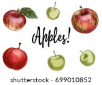 illustration with different... | Shutterstock .eps vector #699010852