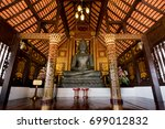 black buddha church | Shutterstock . vector #699012832