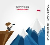 success vector | Shutterstock .eps vector #699015922