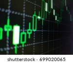 abstract financial trading... | Shutterstock . vector #699020065