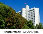 ministry of foreign affairs... | Shutterstock . vector #699040486