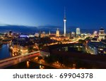 Stock photo berlin skyline city 69904378