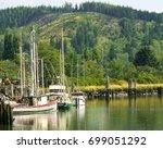 hoquiam  washington  august... | Shutterstock . vector #699051292