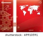 abstract background vector...   Shutterstock .eps vector #69910591