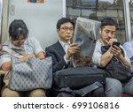 tokyo  japan   august 18th ... | Shutterstock . vector #699106816