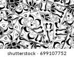 broken tiles | Shutterstock . vector #699107752