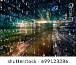 digital city series. visually... | Shutterstock . vector #699123286