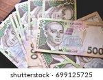 money  uah | Shutterstock . vector #699125725