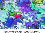 multicolor digital background... | Shutterstock . vector #699133942