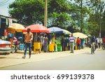 kigali  rwanda   circa february ... | Shutterstock . vector #699139378