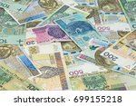 financial background made of... | Shutterstock . vector #699155218