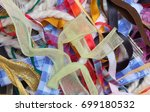 miscellaneous colorful ribbons  ... | Shutterstock . vector #699180532