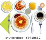 breakfast | Shutterstock .eps vector #69918682