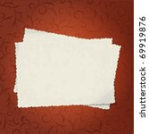 vector vintage blank... | Shutterstock .eps vector #69919876