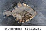 Small photo of Flatfish flounder, stove