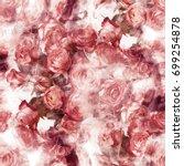 photo print  seamless pattern... | Shutterstock . vector #699254878