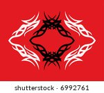 abstract tattoo element for... | Shutterstock .eps vector #6992761
