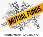 mutual funds word cloud collage ... | Shutterstock .eps vector #699302572