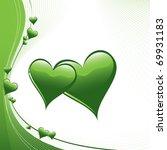 vector hearts. eps10. | Shutterstock .eps vector #69931183