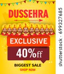 creative offer sale design for... | Shutterstock .eps vector #699327685