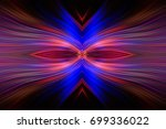 computer generated radial color ... | Shutterstock . vector #699336022