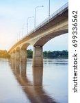 the first thai   lao friendship ...   Shutterstock . vector #699336562