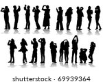 image of people photographers... | Shutterstock . vector #69939364