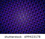 a hand drawing pattern made of... | Shutterstock . vector #699423178