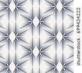 linear vector pattern ... | Shutterstock .eps vector #699424222