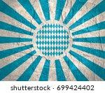 oktoberfest bavarian... | Shutterstock . vector #699424402