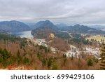 bavaria. the village schwangau. | Shutterstock . vector #699429106