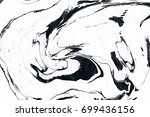 black and white marble... | Shutterstock . vector #699436156