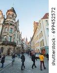 germany  dresden   january 1 ...   Shutterstock . vector #699452572
