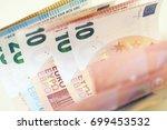 euro money | Shutterstock . vector #699453532