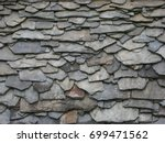 slate roof  old  historical ...   Shutterstock . vector #699471562
