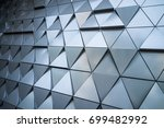 abstract architectural pattern  ... | Shutterstock . vector #699482992