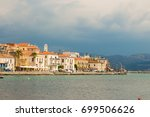 view of the githio town.... | Shutterstock . vector #699506626