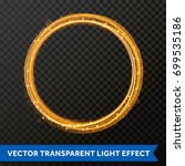 vector light effect of circle...