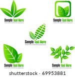 eco icons or elements | Shutterstock .eps vector #69953881