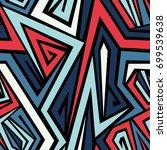 seamless abstract vector...   Shutterstock .eps vector #699539638