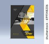 cover design  corporate... | Shutterstock .eps vector #699548206