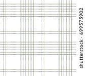 plaid pattern green ... | Shutterstock .eps vector #699575902