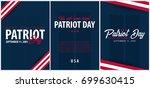 patriot day background.... | Shutterstock .eps vector #699630415