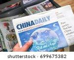 london  england   may 14  2017  ...   Shutterstock . vector #699675382