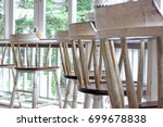 blurry photo of stool in front...   Shutterstock . vector #699678838