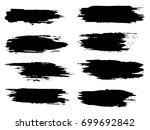 vector collection of artistic... | Shutterstock .eps vector #699692842