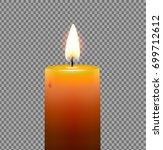 vector illustration of yellow... | Shutterstock .eps vector #699712612