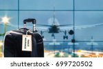 travel insurance label is put... | Shutterstock . vector #699720502
